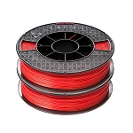 ABS  Premium Filament, 2x500g (2-pack), Red