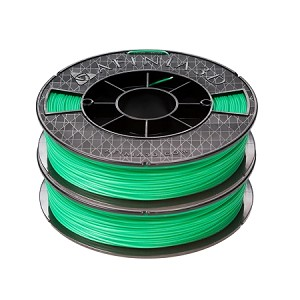 ABS  Premium Filament, 2x500g (2-pack), Green