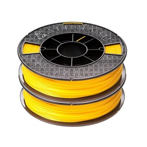 ABS  Premium Filament, 2x500g (2-pack), Yellow