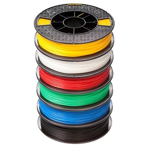Premium PLUS ABS Filament - 6 Pack - 500g Spools