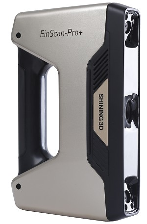 EinScan-Pro PLUS 3D Scanner with R2 Software - Handheld (1yr limited warranty)