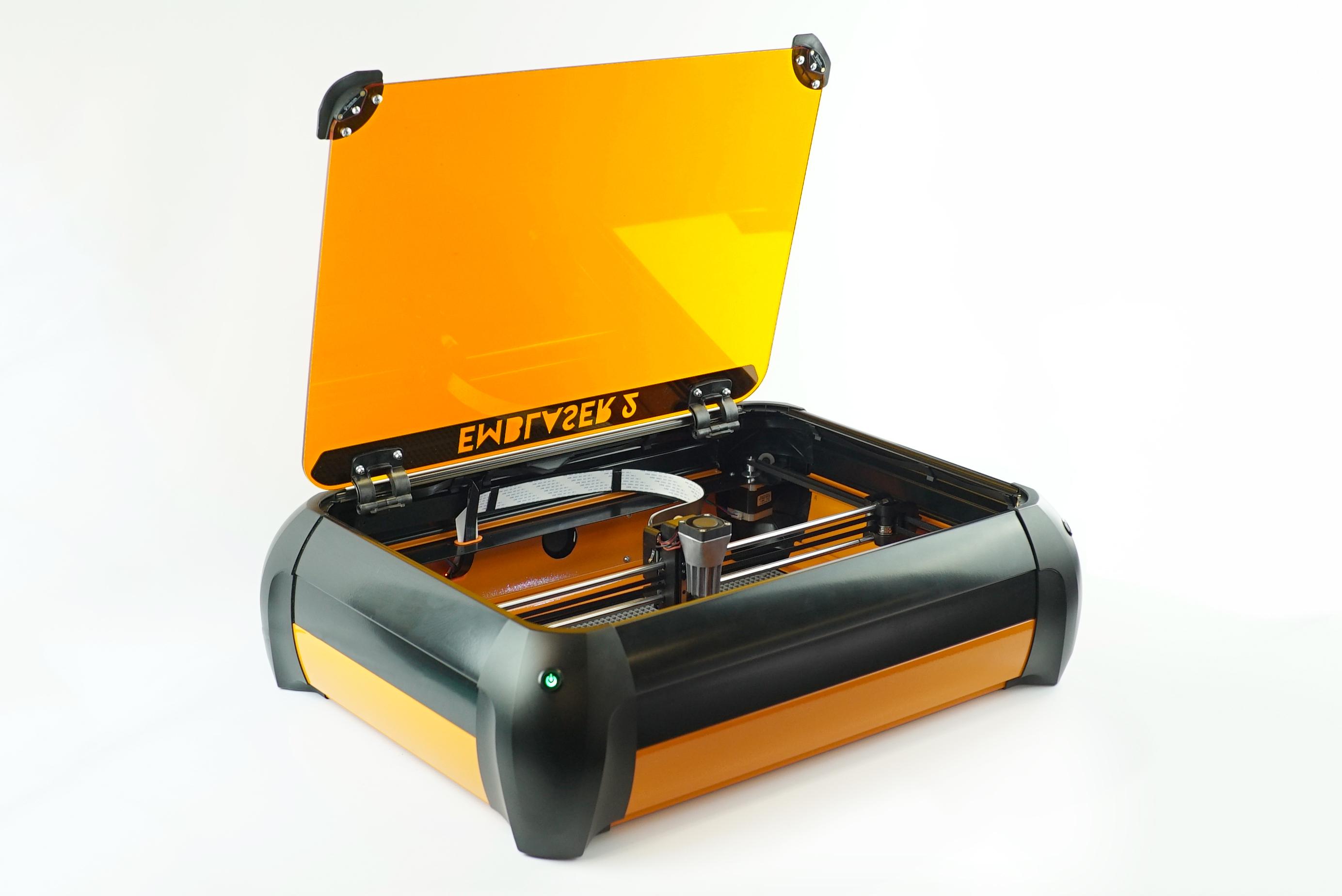 Afinia 3D - Emblaser 2 Laser Cutter/Engraver, 500X300X50 ...