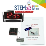 LED Digital Clock STEM Kit