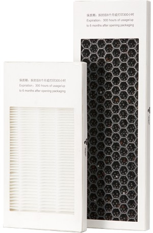 Dual Air filter (HEPA and Activated Carbon) for Afinia H+1 3D printer